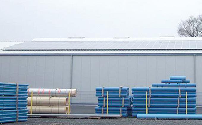 Photovoltaikkühlung mit Energiekörben