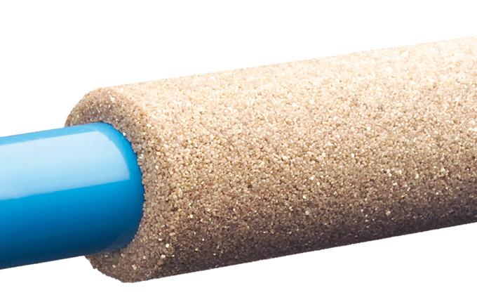 4 Crépine en PVC enrobée de graviers