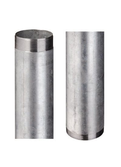 Steel pipe–adaptors