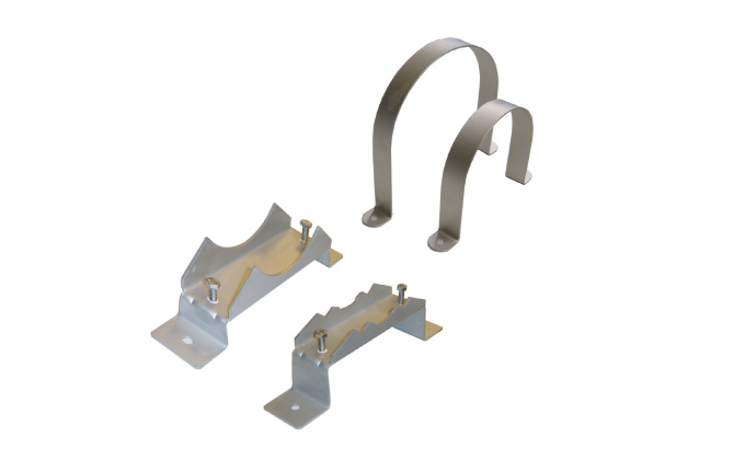 Supporting/fastening clamps