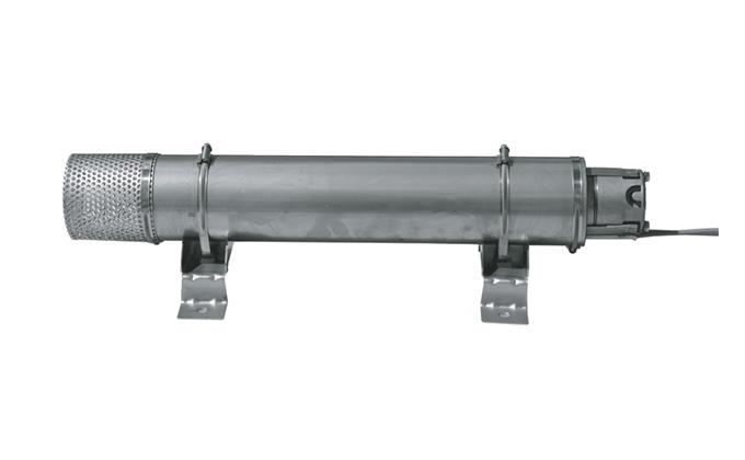 1 Pumpe mit Sieb und Kühlmantel