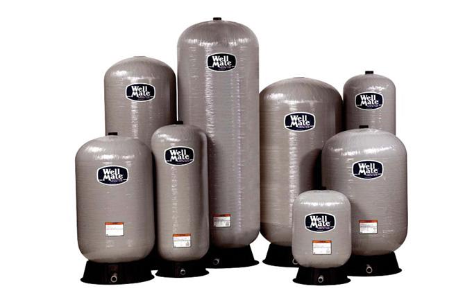 WellMate™ pressure-compensating tanks