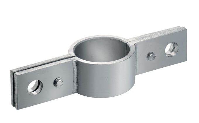 Steel support clamp