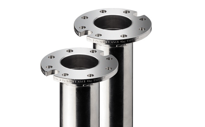 Smooth flange